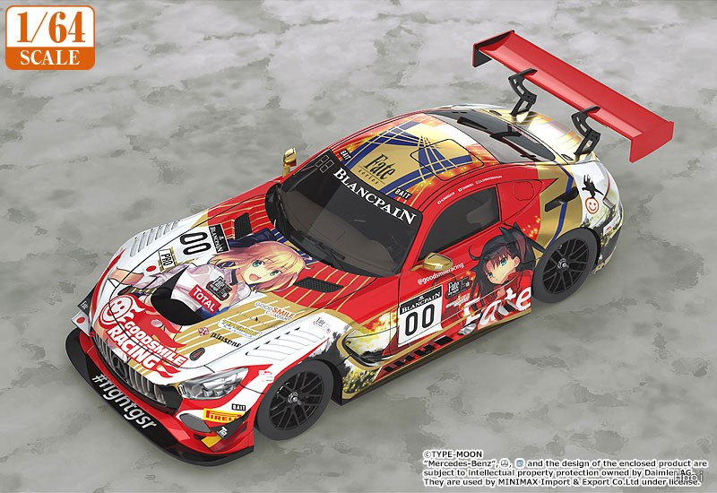 1/64 GOODSMILE RACING and TYPE-MOON RACING 2019 SPA24H 试车日 ver.