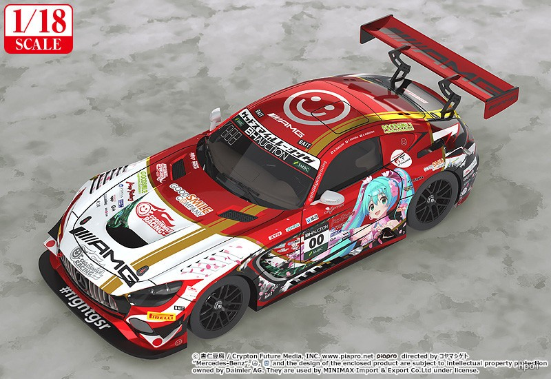 1/18 Mercedes-AMG Team GOOD SMILE 2019 SUZUKA 10HOURS ver.